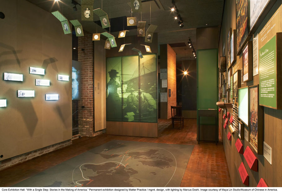 Foyer Museum Usa : Core exhibition hall quot with a single step stories in the